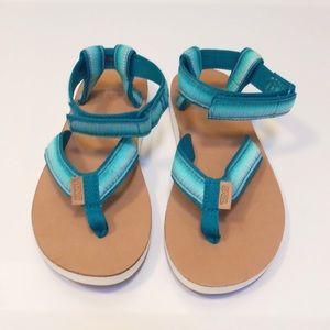 Teva Original sandals in teal green NEW!! NWOT